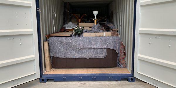 Möbellagerung im Container (2)